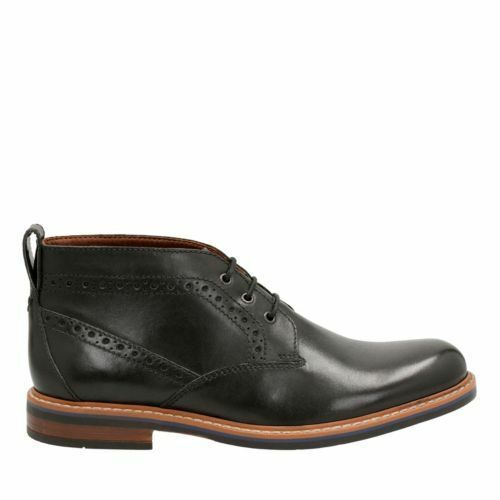 Bostonian Men/'s Melshire Top Black Oxford Leather Dress Ankle Boots 26119435