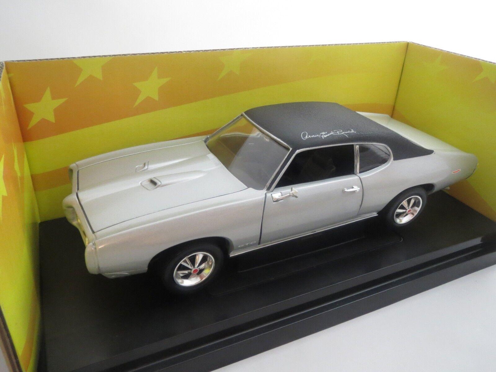 oferta especial Ertl American muscle 1969 Pontiac GTO  Arnie the the the Farmer Beswick  1 18 original   online barato