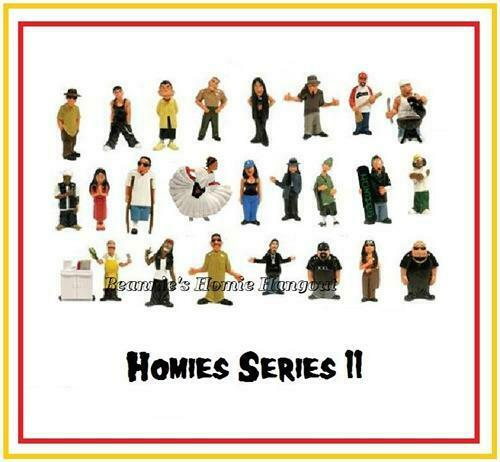 Homies series 11 -  24 different figures,  great for 1:32 dioramas HTF ( loose )