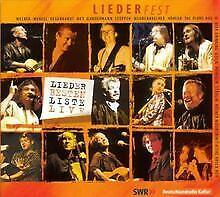 Liederfest-Liederbestenliste Live von Various | CD | Zustand sehr gut