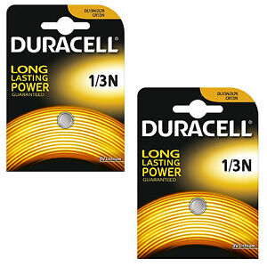 2-x-Duracell-1-3N-3V-Lithium-Batteries-DL-1-3-N-CR1-3N-Brand-New