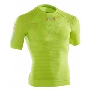 X-Bionic-on-effecteur-Power-OW-Shirt-Short-Manche-Fonction-Shirt-jaune-vert