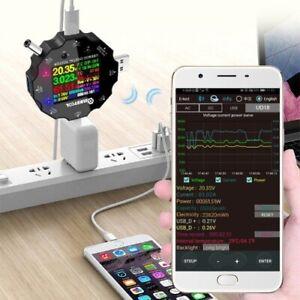 NEW-MUSTOOL-UD18-USB3-0-DC-Type-C-18-in-1-USB-Tester-APP-DC-Digital-Voltmeter