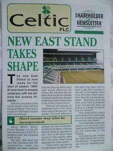 Celtic Shareholder Newsletter New east Stand Takes Shape - Maybole, United Kingdom - Celtic Shareholder Newsletter New east Stand Takes Shape - Maybole, United Kingdom