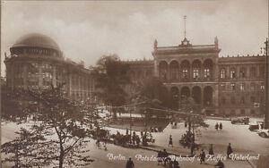Postcard-Approx-9x14cm-Berlin-Potsdamer-Railway-Station-U-Coffee-Homeland