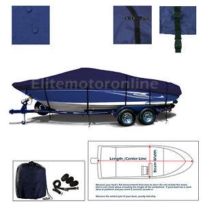 Bayliner-1750-Capri-Bowrider-Heavy-Duty-Trailerable-Boat-Storage-Cover-Navy