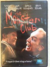 Vincent Price MONSTER SQUAD ~ 1980 British Amicus Anthology Horror | Rare US DVD