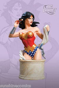 Wonder Woman Bust 1388/6200 Women of the DC Universe Series 2 Dobson NEW SEALED