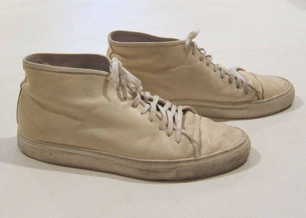 2bc01961d Common Projects shoes - Leather Tournament High Top German Trainer ...