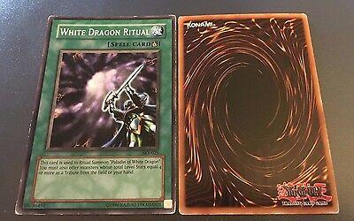 YuGiOh Card mixed p WHITE DRAGON RITUAL
