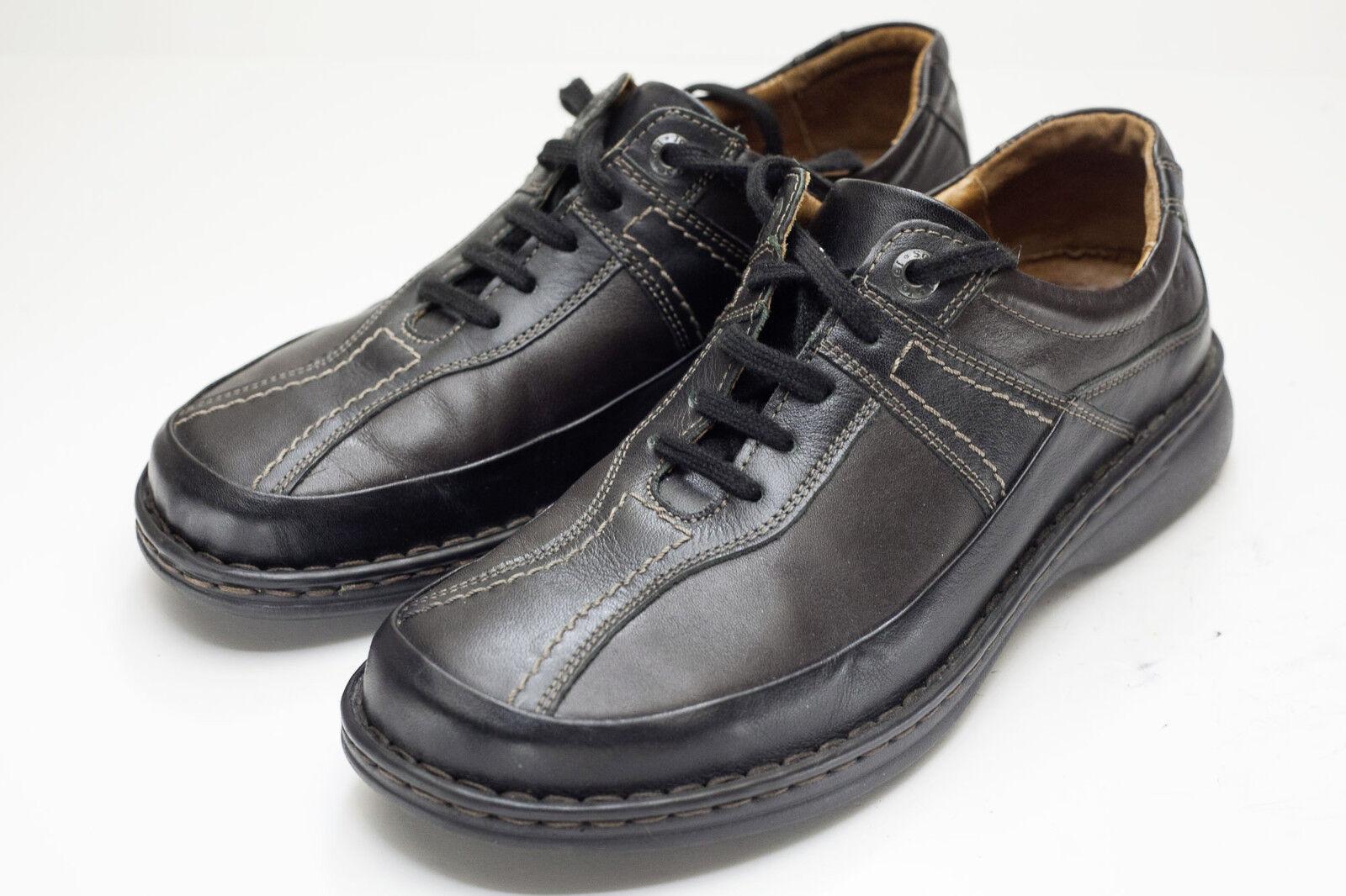 Josef Seibel 9.5 Black Brown Oxfords Women's shoes EU 41