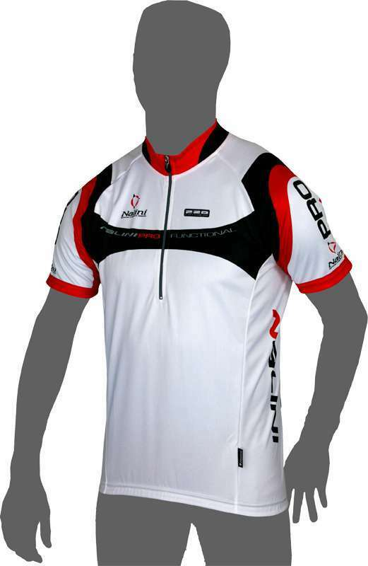 Nalini Valico Ti Cycling Jersey, White, Large