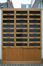 Victorian Haberdashery Antique Vintage Chest of Drawers shop display