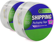 188 X 546 Yards Heavy Duty Packaging Tape Super Clear Packing Versatile Tape