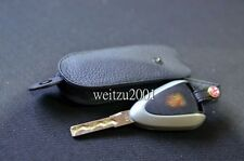 Genuine Key Leather Case for Porsche 911 968 986 996 997 in Black color