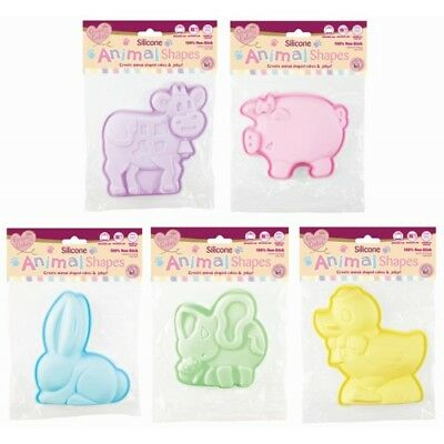 Umile Jelly Stampo Stampi Per Dolci A Forma Di Animale Antiaderente- Long Performance Life