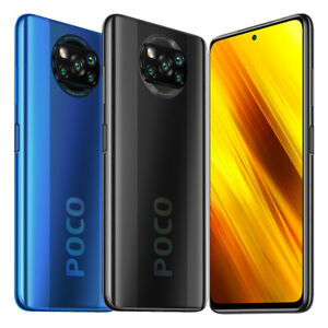 "Poco X3 NFC 6GB 64GB Handy 6,67"" 64MP 5160mAh DualSIM Smartphone Global Version"