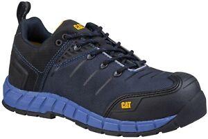 Caterpillar-Camino-S1P-azul-para-hombre-Composite-Toe-Cap-entresuela-de-seguridad-Zapatilla-Zapato