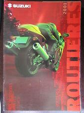 BROCHURE CATALOGUE  8 PAGES 2001 MOTO SUZUKI HAYABUSA GSX-F BANDIT SV XF 650