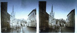 Placa-foto-estereoscopica-fotografia-Belgica-Belgica-Bruselas-Ghent-c1930