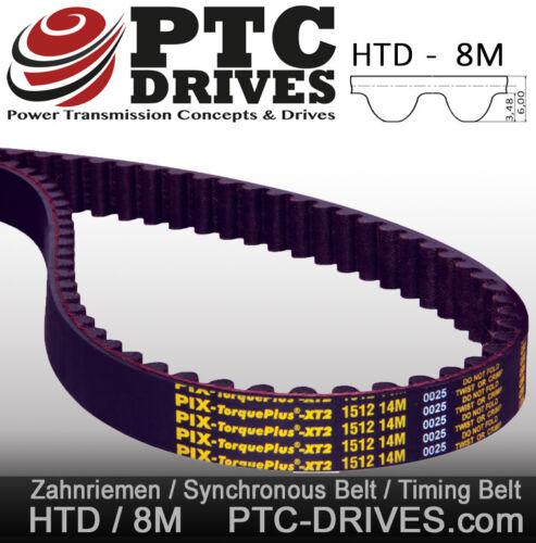 * top * 48 dientes //synchronriemen de Pix-Top producto 384-8m-20 HTD diente
