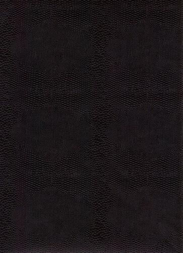 Eidechsenpapier Überzugspapier Vorsatz 1 Bogen 50 x 70 cm schwarz