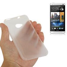 CUSTODIA HARD CASE ULTRA SLIM 0,3MM per HTC ONE M7 801N COVER TRASPARENTE SOTTIL