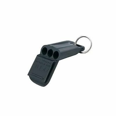 ACME 635 Tornado Pealess Airfast Referee Whistle Black Plastic Loud NEW