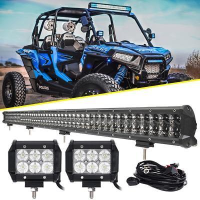 "4/"" 18w LED work lights Polaris RZR XP900 RZR4 Crew XP1000 Ranger 900 800s UTV"