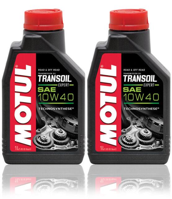 MOTUL TRANSOIL EXPERT 10W40 Olio Cambio e Differenziale Ingranaggi Moto 2 LITRI