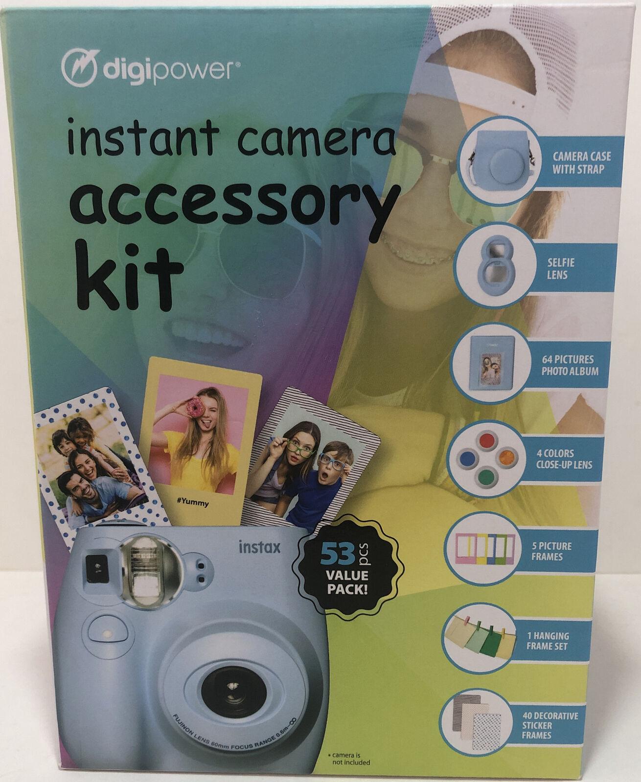 Digipower Instant Camera 53 pcs Accessory Kit Fuji Film Instax