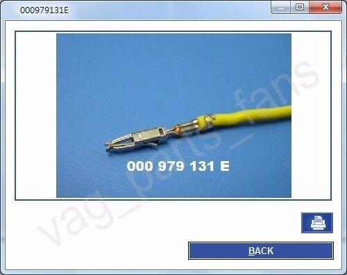 10 nos Crimp Micro Timer II Terminal Connector Contact for VAG 000979019E 131E