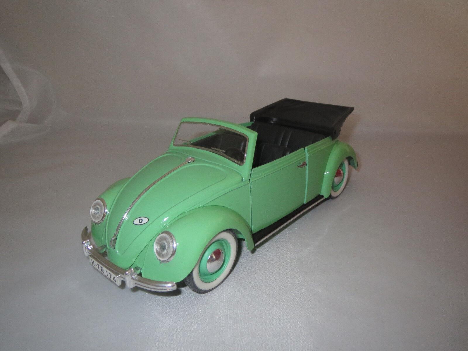 Solido volkswagen coccinelle cabriolet  vert clair  1 17 sans emballage
