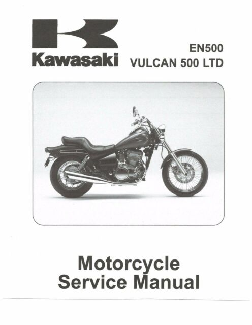 kawasaki service manual 2001 2002 2003 2004 2005 vulcan 500 ltd rh ebay com 2001 Kawasaki 500 Vulcan Specs 1999 Kawasaki Vulcan 500
