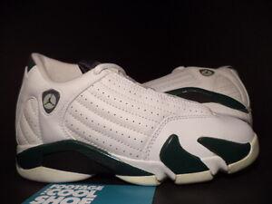 6d729c84ed1f7c Kids Nike Air Jordan XIV 14 Retro WHITE FOREST GREEN GREY BLACK ...