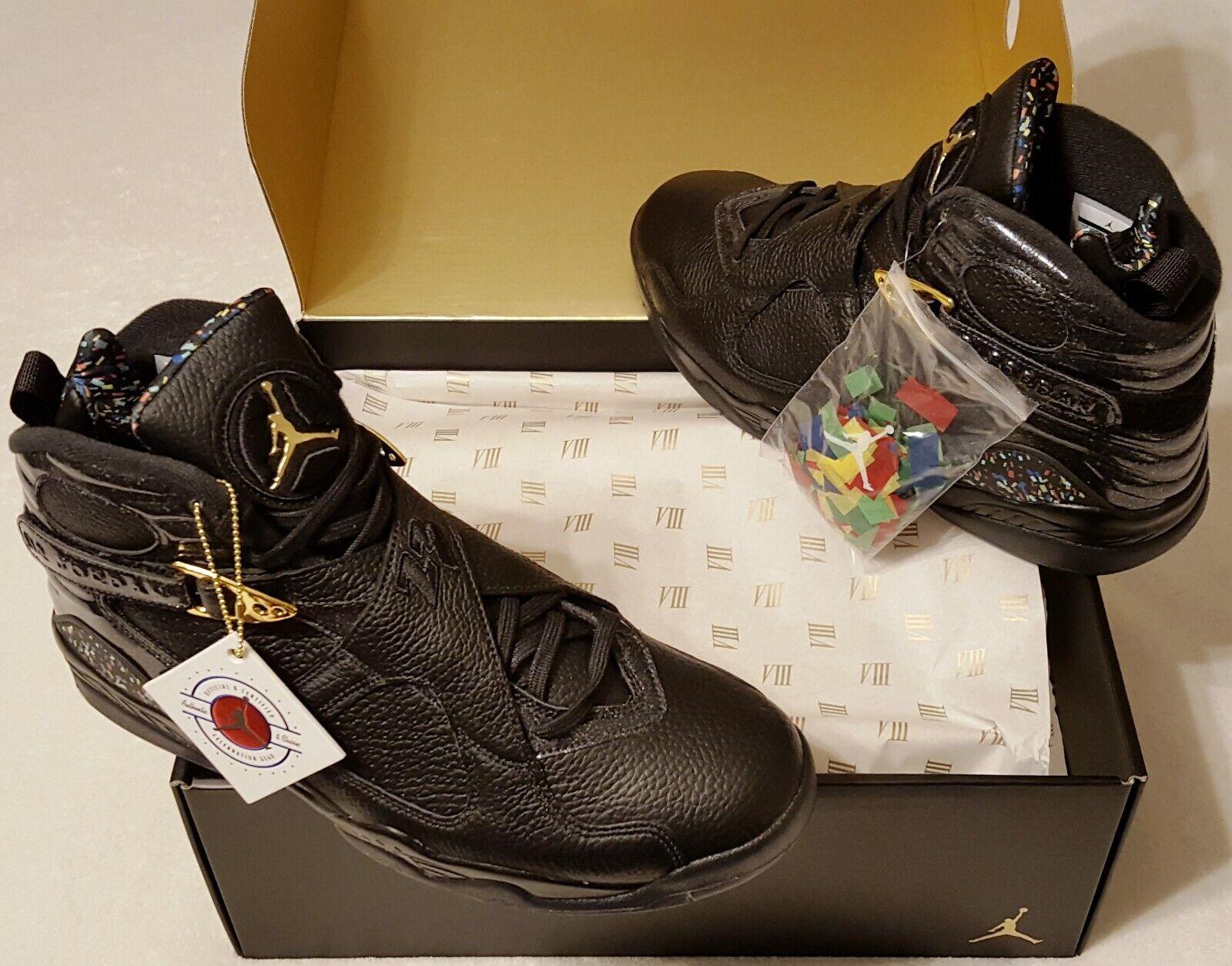Nike Air Jordan 8 Confetti 2016 Michael Jordan Mens Shoe Size 12 New In Box