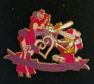 Disney-Auctions-P-I-N-S-Happy-Valentine-039-s-Day-ROGER-amp-JESSICA-Rabbit-LE-Pin