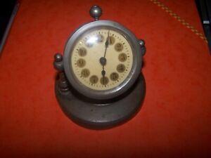 FidèLe TrÈs Vieille Pendule / RÉveil / Horloge / FabriquÉe Entre Les 2 Guerres Cadeau IdéAl Pour Toutes Les Occasions