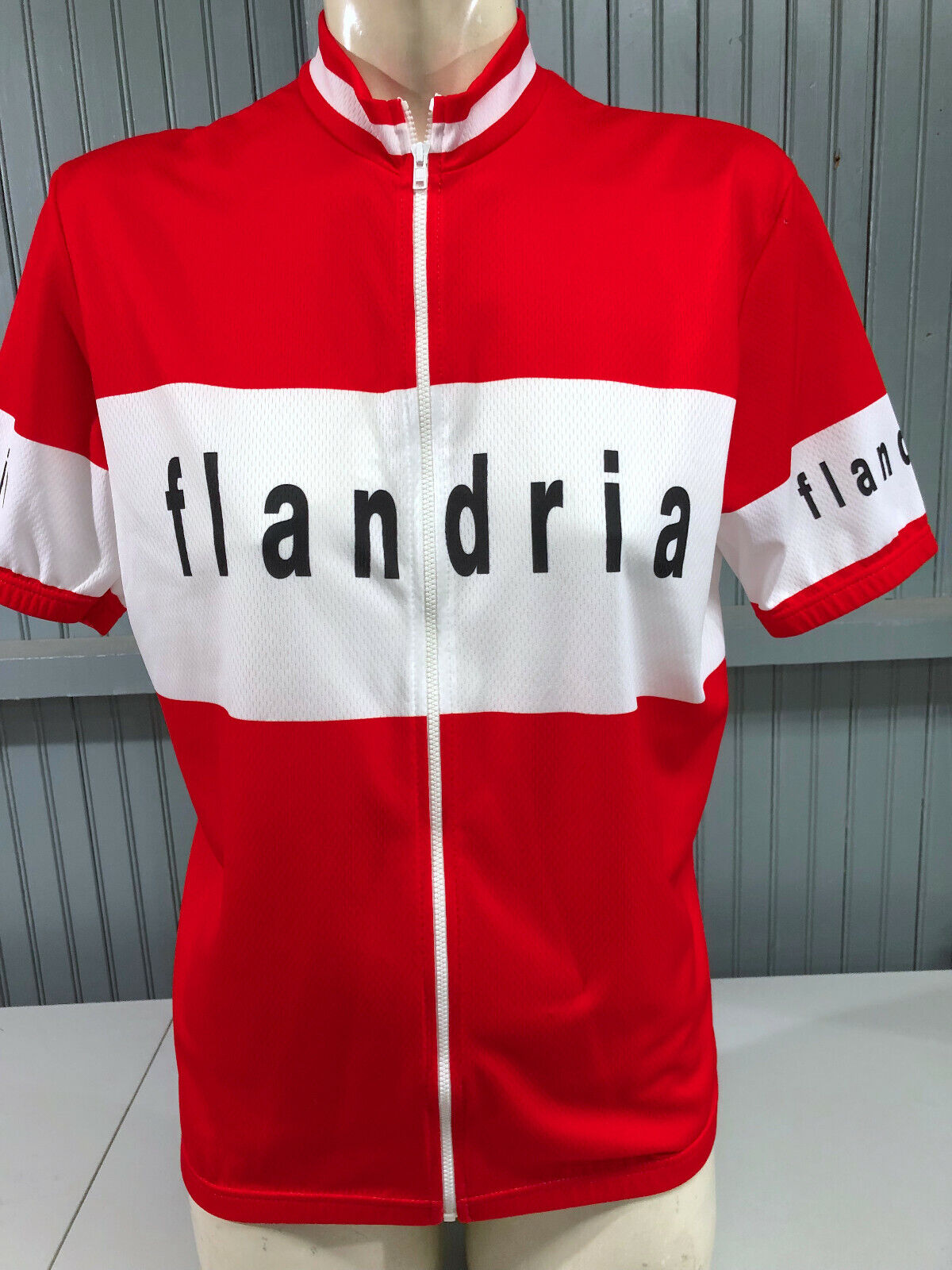 Team Flandria Belguim XL Größe 5 Made in  Cycling Jersey TVX Van Vlaanderen