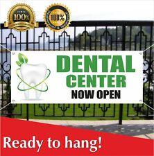 Dental Center Now Open Banner Vinyl Mesh Banner Sign Flag Grand Opening