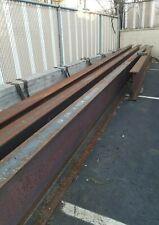 Steel I Beams W24 X 55 Beams 35 Lg Slightly Modified With Minor Rust 6000