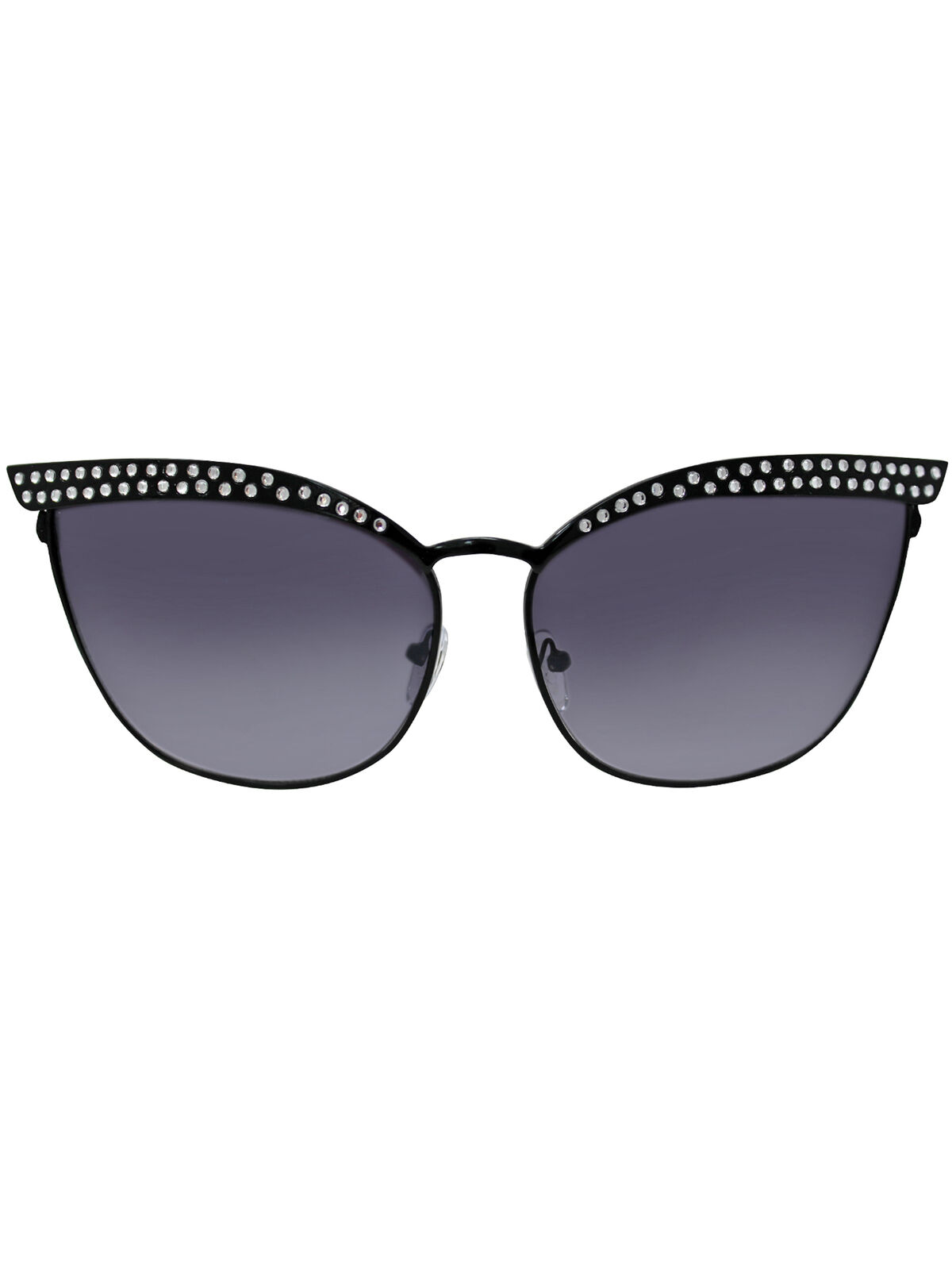CAT EYE METAL FRAME SUNGLASSES WITH CASE
