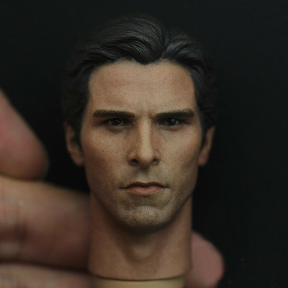 1 6 Scale Bruce Wayne Head Sculpt Batman For 12  Action Figure Body