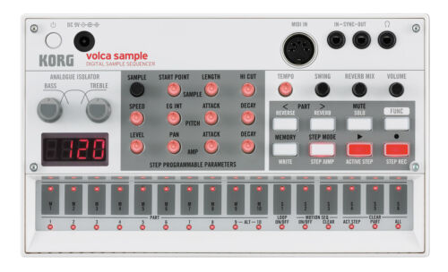 Intuitiver und ultrafelxibler Volca Sequencer zum Aufnehmen und Abspielen MIDI!