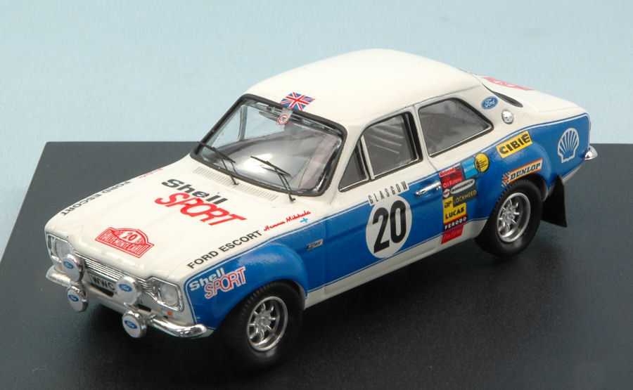 Ford Escort Rs 1600  20 4th Monte Carlo 1973 H.mikkola-j.porter 1 43 Model