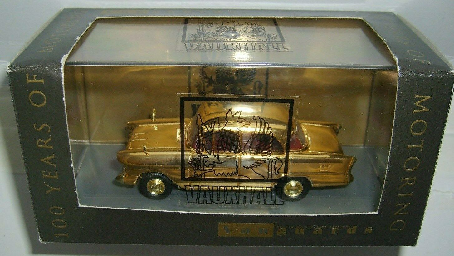 VANGUARDS   VA03807 VAUXHALL VICTOR gold PLATED   LTD ED OF 3100. V.G.C