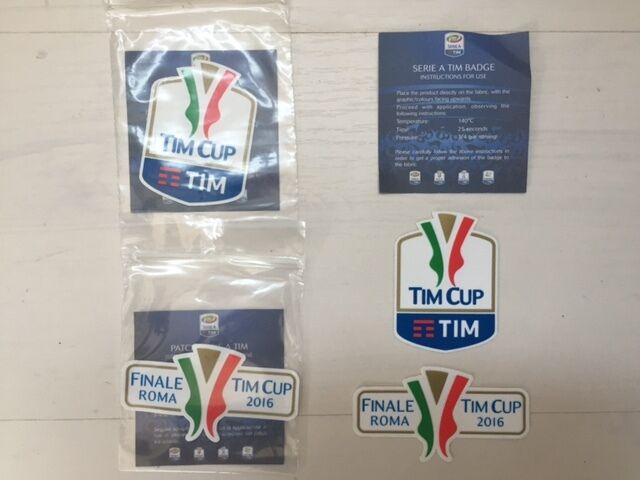SET PATCH TOPPE FINALE FINALE FINALE ROMA 2016 TIM CUP FINAL MATCH LAZIO JUVENTUS PATCHES  30 | Beautiful  | Raccomandazione popolare  | Il colore è molto evidente  | Eccellente valore  7b344a