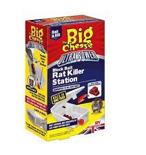 1¥C9  The Big Cheese Ultra Power Block Bait Rat Killer Station + Tape Measure