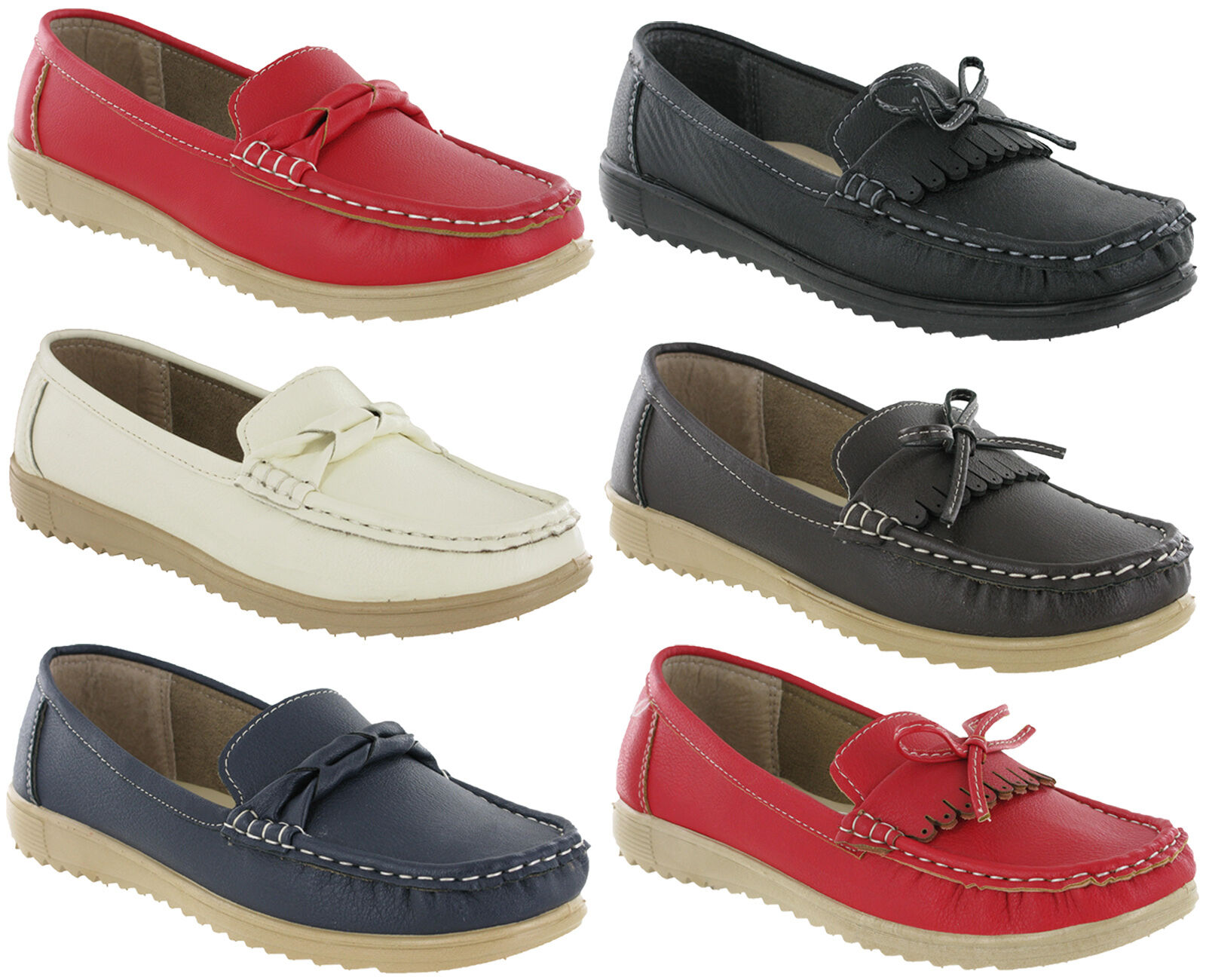 Amblers Moccasin Holiday Slip On Loafer Deck Flat Summer Holiday Moccasin Casual Womens Shoes 9ada08