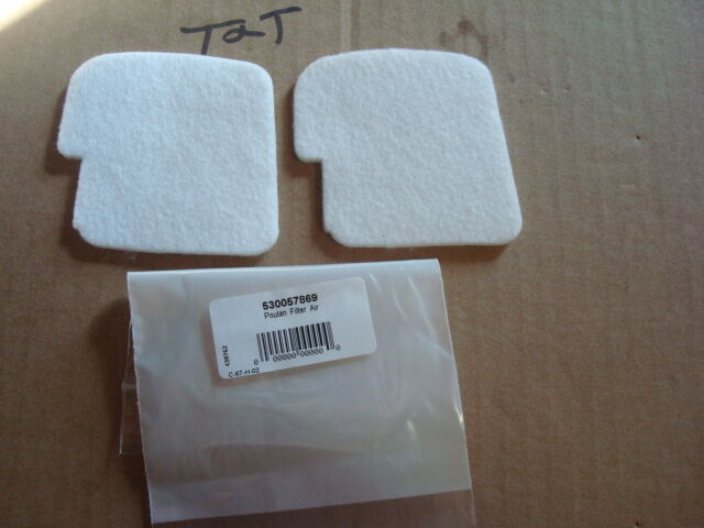 NEW POULAN AIR FILTER COVER FITS PP4218 3314 3316 4018 530058687 OEM
